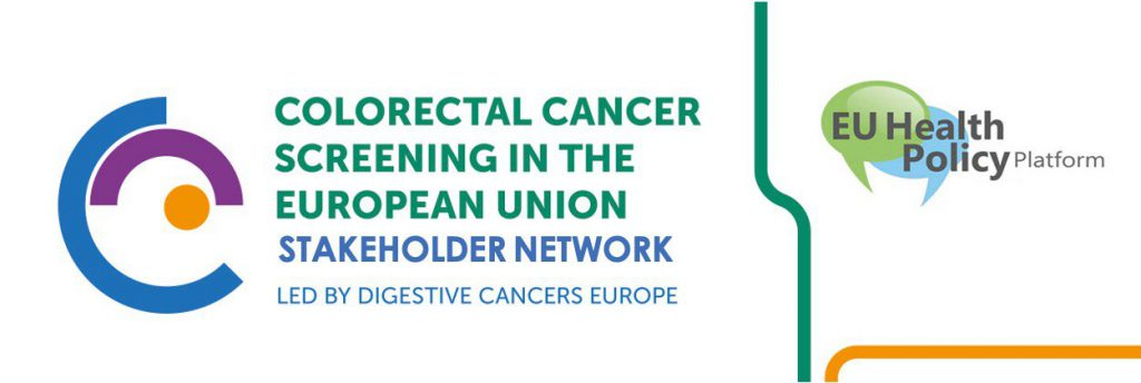 Stakeholder Network Strengthens 2020 Joint Statement on CRC Screening in the EU